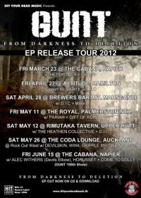 EP Release & Tour for Gunt