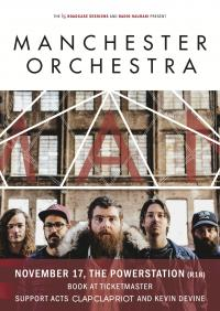 Manchester Orchestra announce one New Zealand show only