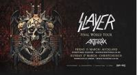 Slayer and Anthrax are coming to New Zealand