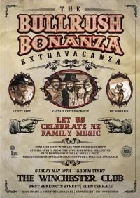 The Bullrush Bonanza Extravaganza – A NZ Music Month Spectacular For The Whole Family