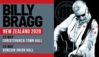 Billy Bragg Announces South Island Shows For 2020