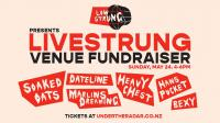 Live Strung Venue Fundraiser This Sunday